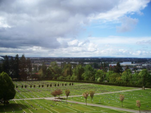 photo - The Schara Tzedeck Cemetery Board operates Schara Tzedeck Cemetery in New Westminster (pictured) and a newer one in Surrey