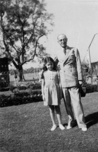 photo - Born in Calcutta, Vancouver Jewish community member Seemah Berson has contributed various items to the Recalling Jewish Calcutta virtual museum, including this photo of her with her father.