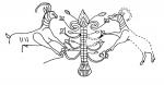 image -A menorah-like drawing from Kuntillet Ajrud