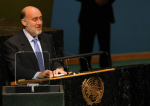photo - Israel's ambassador to the United Nations Ron Prosor addresses the UN