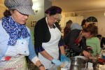 photo - Rabbi Falik and Rebbetzin Simie Schtroks hosted Iron Chef Chanukah Competition II at the Centre for Judaism in the Lower Fraser Valley of British Columbia