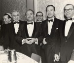 photo - Group of men in evening dress, Congregation Schara Tzedeck, 1965