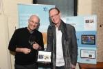 photo - Israeli food critic Gil Hovav, left, and Jack Gottlieb