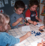 photo - Prof. Dorit Aram noticed that young children, prior to going to school, long to write