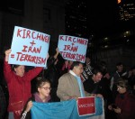 photo - The Feb. 18 silent march in honor of Alberto Nisman began on the steps of the Vancouver Art Gallery