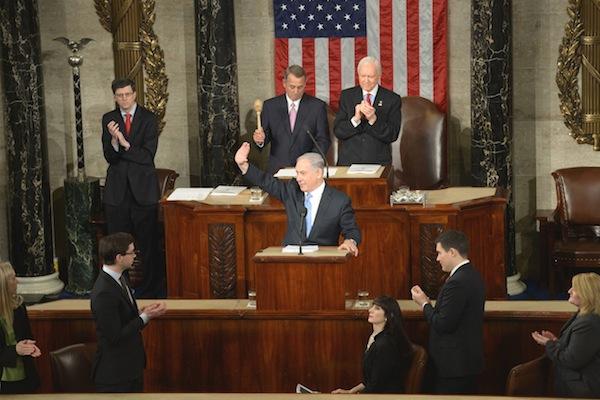 נתניהו בקונגרס האמריקני