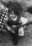 photo - The author in 1974 at a tree planting event organized by her father in England
