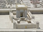 photo - A model of King Herod I's renovated version of the Second Temple in Jerusalem
