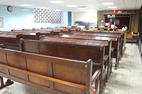 photo - Interior of Adath Israel Synagogue in Old Havana