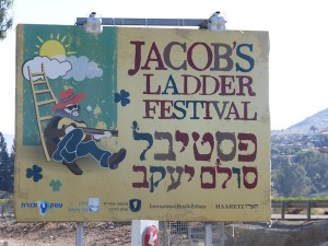 photo - Jacob's Ladder Festival sign