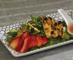 photo - Grilled salad with chicken is one of the many tempting dishes in A Taste of Passover