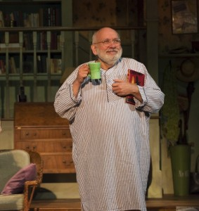 photo - From the moment Jay Brazeau entered the stage looking like Rip Van Winkle in a three-quarter-length nightgown and let out a big yawn (as Chekhov directed Uncle Vanya to do), I knew this was going to be a good play