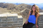 photo - The author at the Great Wall.