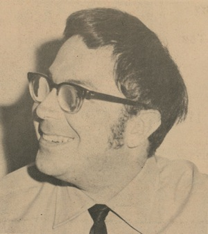 image - scan from paper Bob Markin, JWB, 1970.
