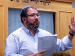 photo - Rabbi Zvi Hirschfield at Limmud Winnipeg