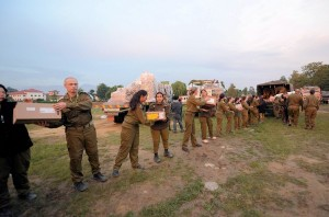 photo - JDC disaster response team delivers aid in Nepal
