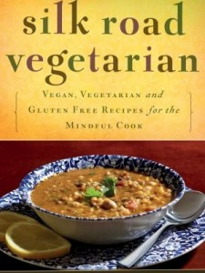 book cover - Silk Road Vegetarian: Vegan, Vegetarian and Gluten Free Recipes from the Mindful Cook by Dahlia Abraham-Klein (Tuttle Publishing Co., 2014)