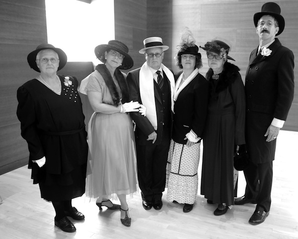 photo - Members of the Kol Halev performance troupe, who represented the Jewish community at the time of Hebrew Free Loan Association's founding 100 years ago