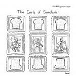 cartoon - The Earls of Sandwich, by Jacob Samuel