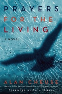 book cover - Prayers for the Living by Alan Cheuse