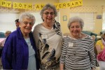 photo - Among those celebrating L'Chaim's 30th anniversary were original board members, left to right, Sylvia Gurstein, Gloria Hendin and Marion Poliakoff