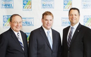 photo - Left to right: Rafael Barak, John Baird and Josh Cooper