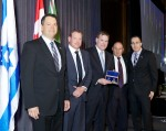 photo - Left to right: Josh Cooper, Frank Sirlin, John Baird, Avi Dickstein and Ilan Pilo