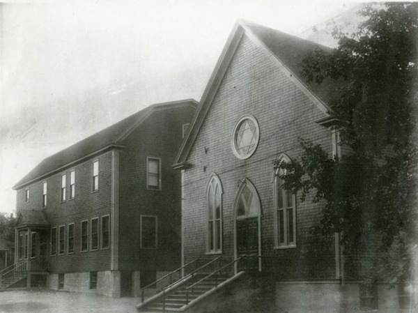 photo - The former Congregation Sons of Israel in Glace Bay in 1932