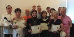 photo - Graduates of the Jewish Seniors Alliance peer support program, and teachers