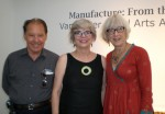 photo - Left to right are artists Robin Adams, Jan Smith and Julie Kemble