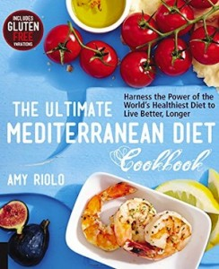 image - The Ultimate Mediterranean Diet Cookbook by Amy Riolo book cover