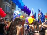photo - Organizers estimate 180,000 people marched in the Tel Aviv Pride parade, June 12