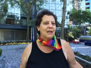 photo - Hadar Namir says she's uncomfortable with the human rights situation in Israel