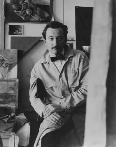 photo - David Aronson in 1956.
