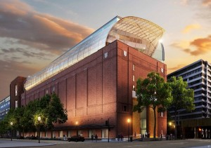 image - An artist's impression of the exterior of the new Museum of the Bible in Washington, D.C.