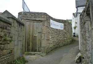 photo - The entrance to Penzance Cemetery, the restoration of which is being funded jointly by the Heritage Lottery Fund, and organizations and individuals in the Jewish community