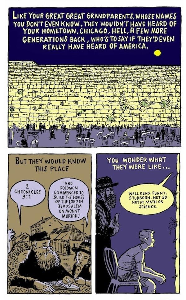 cartoon - From Avi & Jihad, by Eric Orner.