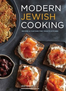 image - Modern Jewish Cooking book cover