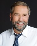 photo - New Democratic Party of Canada leader Tom Mulcair