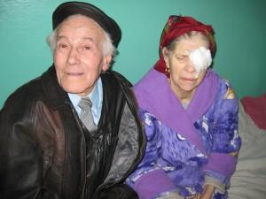 photo - Survivors Isak and Galina in hospital