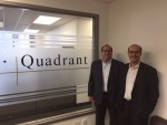 photo - Michael Susser, left, and Murray Palay of Quadrant Asset Management