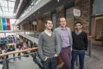 photo - Left to right, Lighthouse Labs' Jeremy Shaki, Josh Borts and Khurram Virani