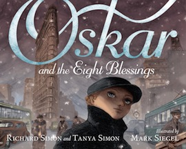 book cover - Oskar and the Eight Blessings