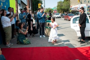 photo - From filming to walking the red carpet, a group of 5-to-7-year-olds were filmmakers this summer
