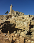 photo - The Hellenistic/Hasmonean excavation at Nebi Samwil