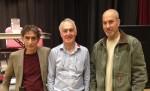 photo - Left to right, panelists Gabor Maté, Michael Barkusky and Yonatan Shapira