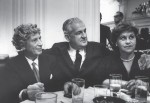 photo - Harpo Marx and the Bodnes in the Rose Room. The hotel's list of illustrious guests is almost literally endless