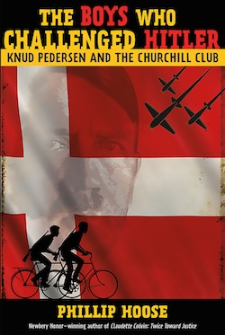 book cover - The Boys Who Challenged Hitler