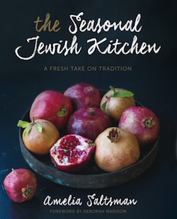 book cover - The Seasonal Kitchen cover
