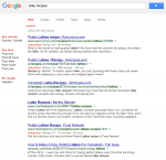 screenshot - A Google search for latke recipes reveals 341,000 results, so popular is the Chanukah treat.